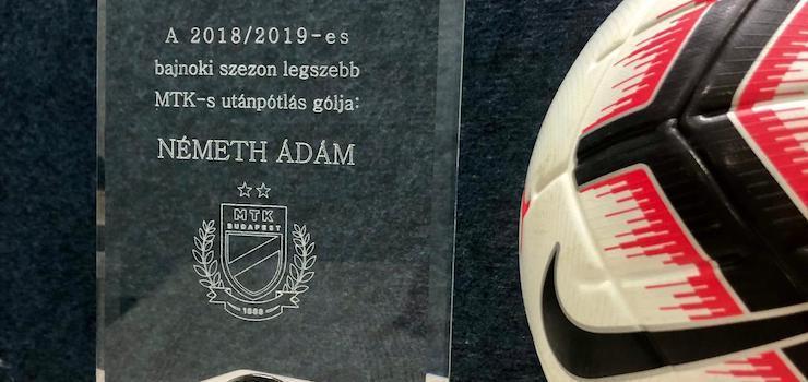 Németh Ádám lőtte a legszebb gólt az utánpótlásban (VIDEÓ)