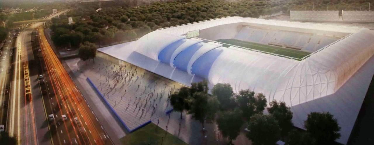 Határidőre elkészül az Új Hidegkuti Nándor Stadion