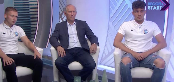 Pölöskei, Zuigeber és Balogh a Digi Sport reggeli műsorában (VIDEÓ)