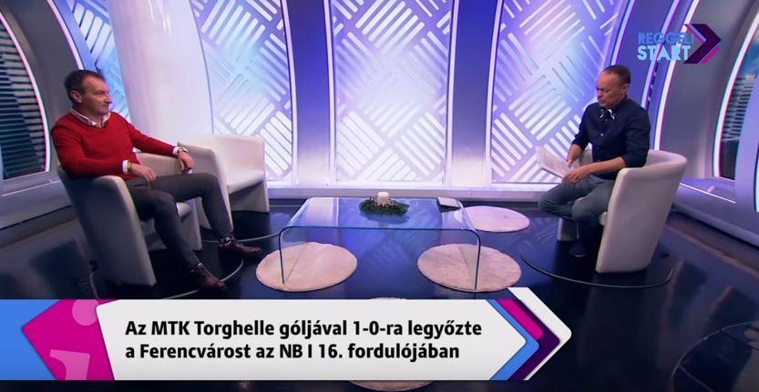 László Csaba vendégeskedett a Digi Sport reggeli műsorában