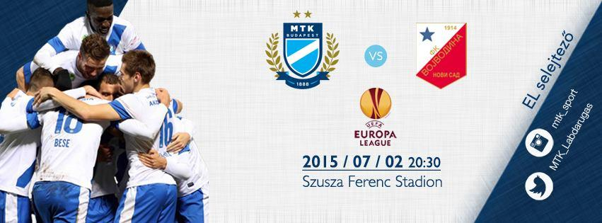 Beléptetési információk az MTK Budapest - FK Vojvodina, Európa-liga mérkőzéssel kapcsolatban (HUN, ENG, SRB)