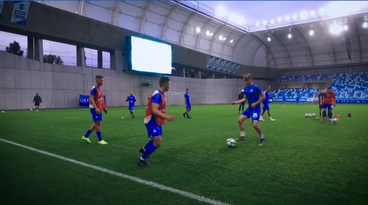 UEFA IFJÚSÁGI LIGA: ELUTAZTUNK A VISSZAVÁGÓRA (VIDEÓ)