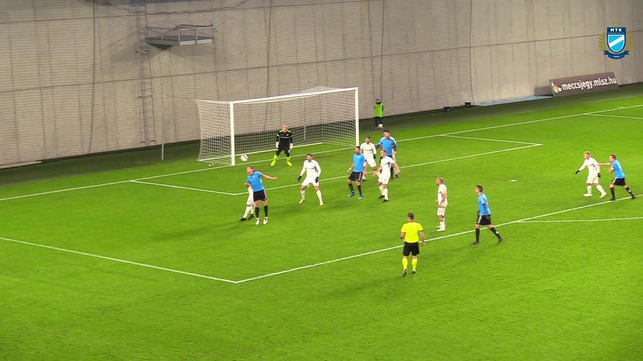 MTK BUDAPEST - SZOLNOKI MÁV FC 1-0 - ÖSSZEFOGLALÓ (VIDEÓ)