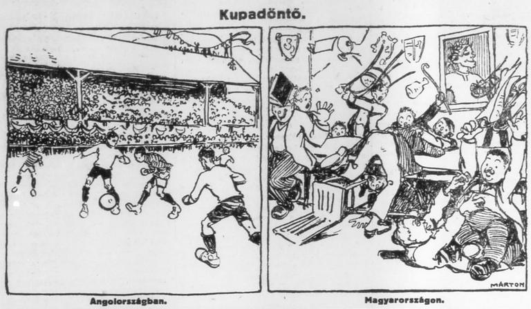 1913-ban nyerte meg csapatunk az 1912. évi  Magyar Kupát