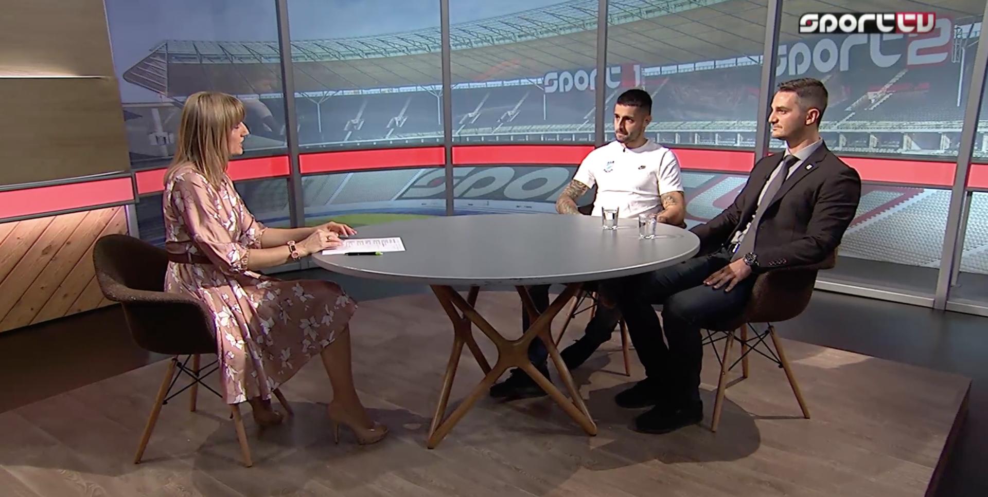 Polyák Balázs és Lencse László a Sport TV vendége volt