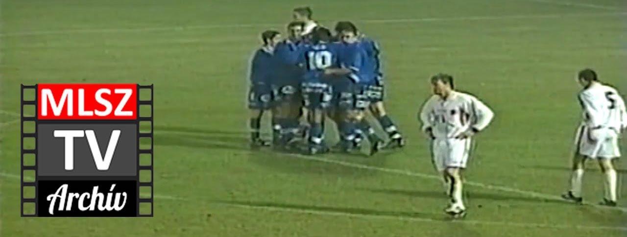 MLSZ TV Archív: Videoton-MTK 1-3 (1992. 03. 28.)