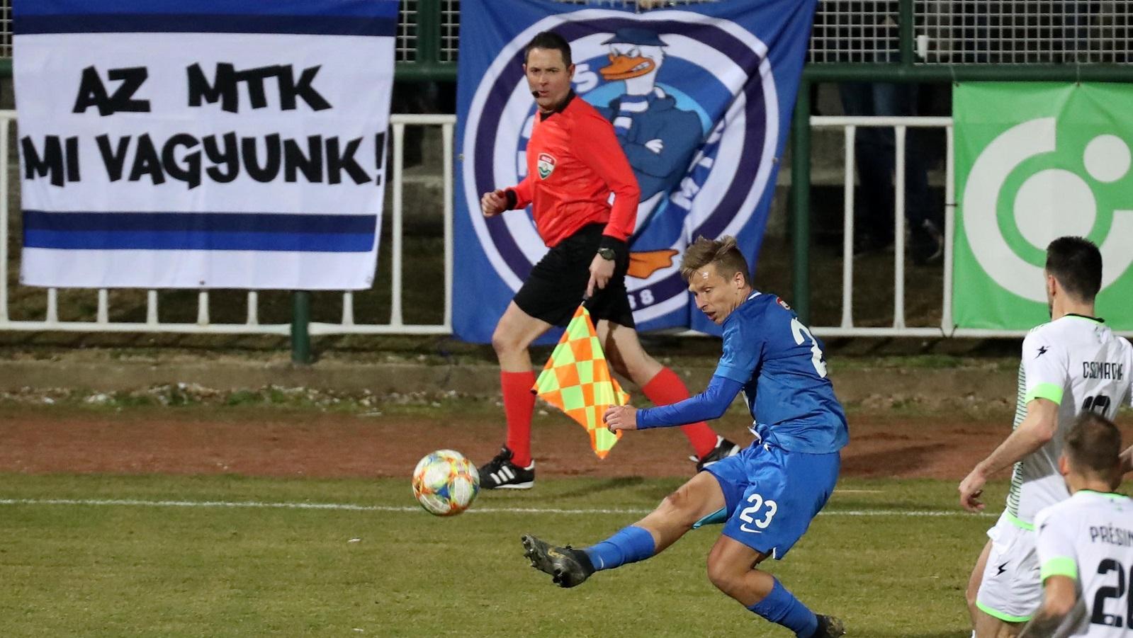 FC Ajka - MTK Budapest 2-0 (0-0) összefoglaló (VIDEÓ)