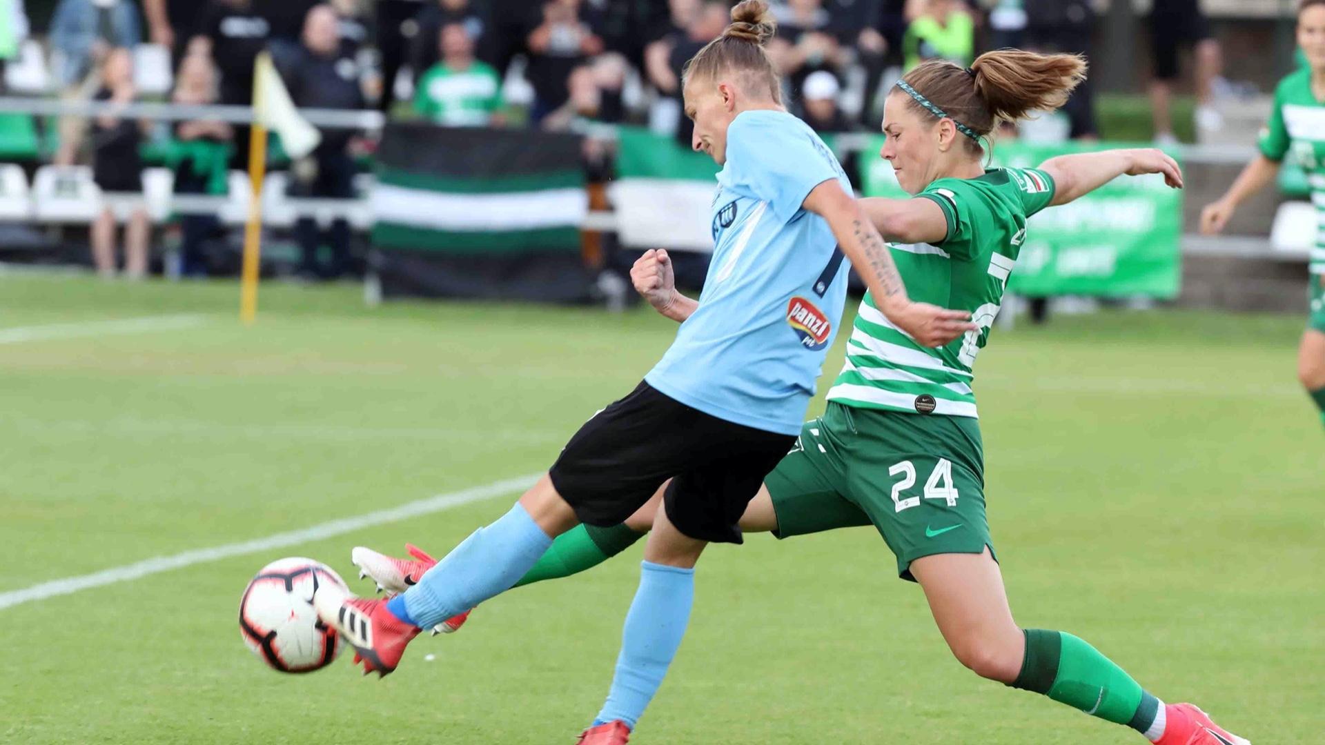 Női labdarúgás: Peches góllal veszítettük el a mindent eldöntő mérkőzést, az FTC indulhat az BL-ben