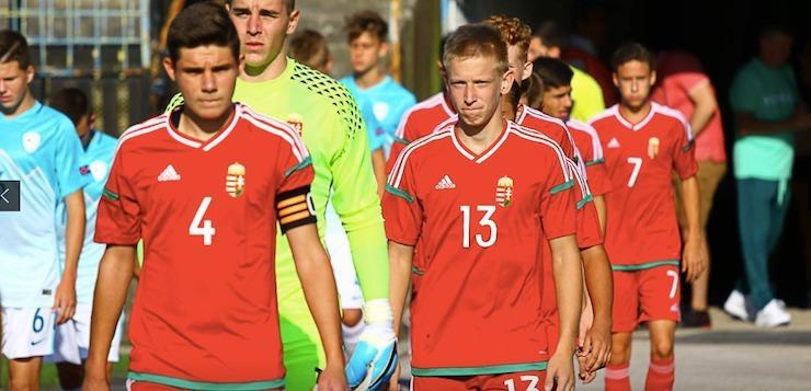 Nyolc fiatalunk az U16-os válogatottnál