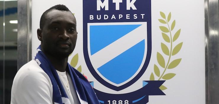 """Diallo: """"Az MTK a legmegfelelőbb klub a számomra"""""""