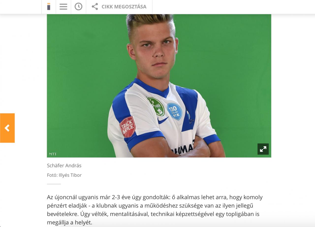 Kiemelt téma lett az MTK Budapest tudatos stratégiája és Schäfer klubváltása