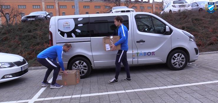 A Bátor Tábort segítjük: Bognárék útjára indították a csomagokat (VIDEÓ)