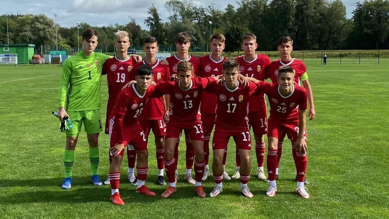 Sikeres felkészülési mérkőzéseken léptek pályára U16-os válogatottjaink