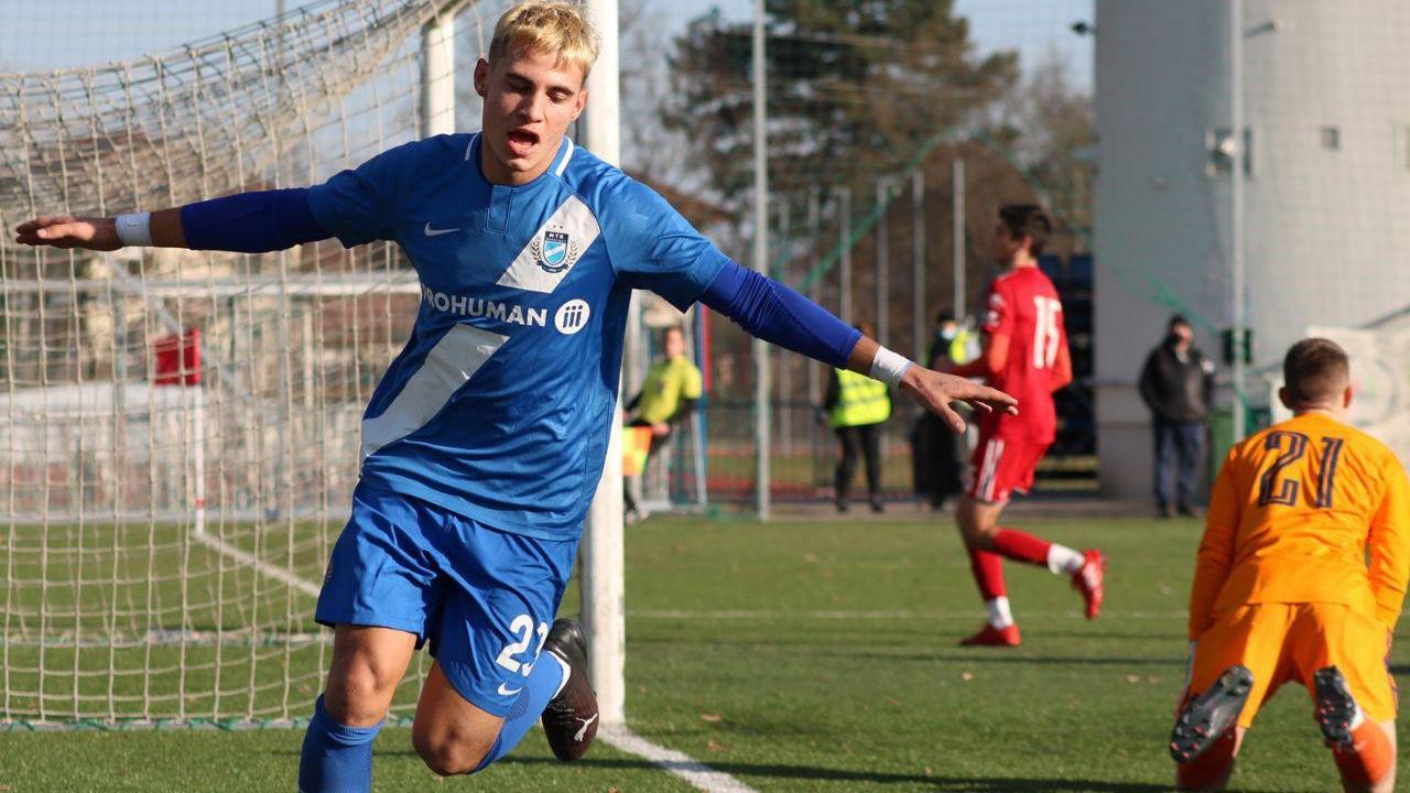 Drjlo győztes gólt szerzett az U21-es válogatottban