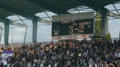 Ezen a napon játszotta csapatunk a 200. mérkőzést az Újpest FC ellen