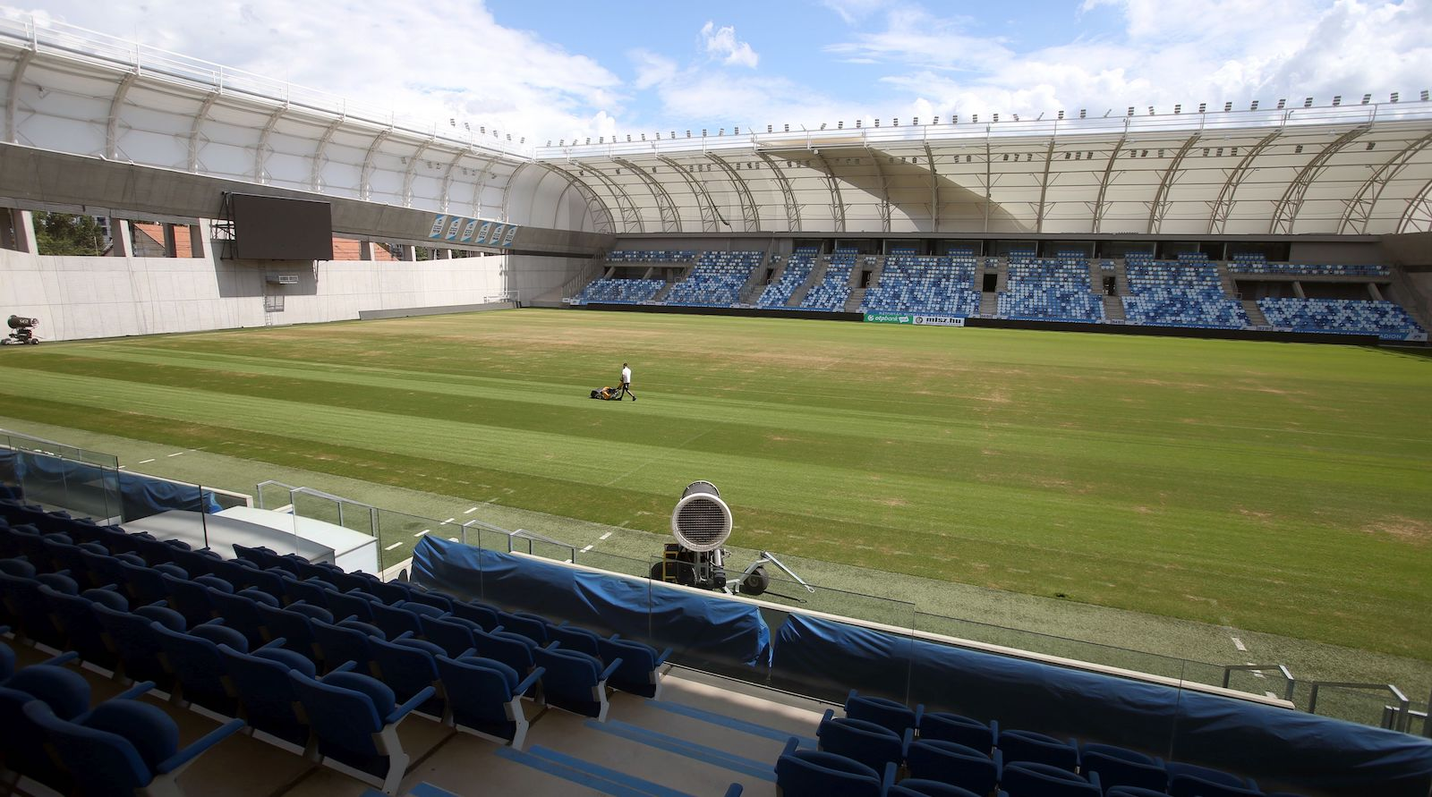 Az üzemeltető közleménye az Új Hidegkuti Nándor Stadion gyepszőnyegének sajnálatos állapotáról