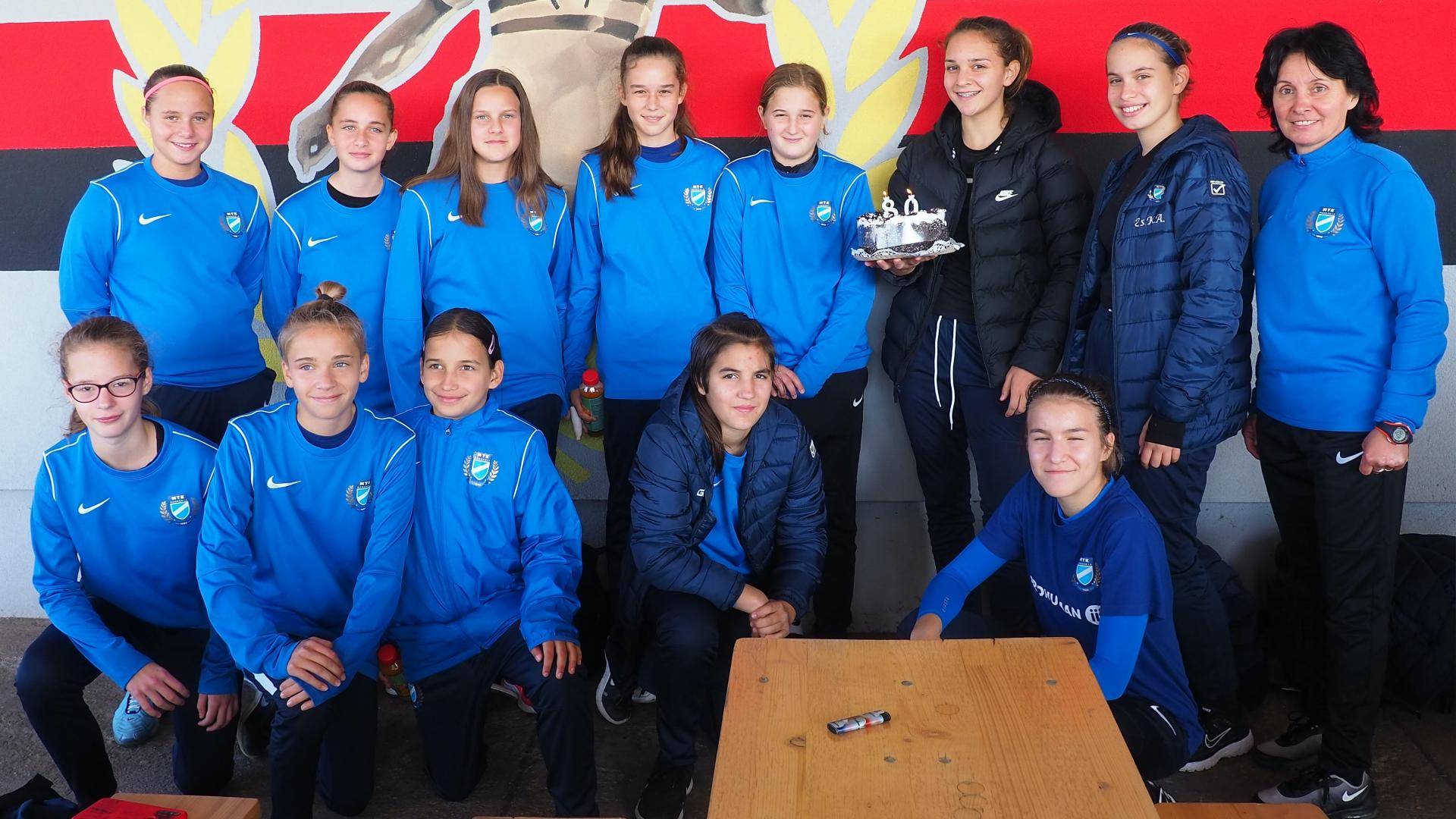 U14: A nyolcadik őszi bajnokit is megnyertük
