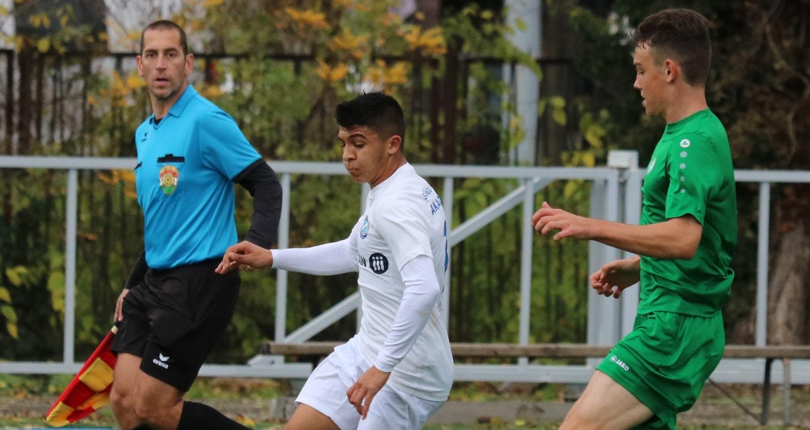 U17: Szoros meccsen vereség a Honvéd ellen