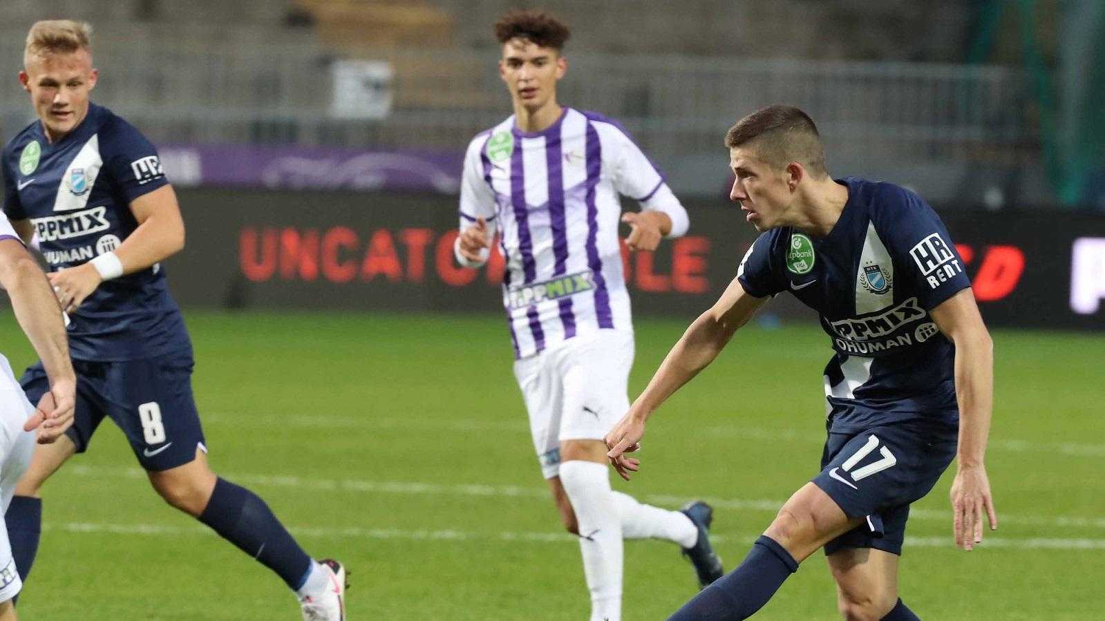 Újpest FC - MTK Budapest 0-4 (0-3) összefoglaló (videó)