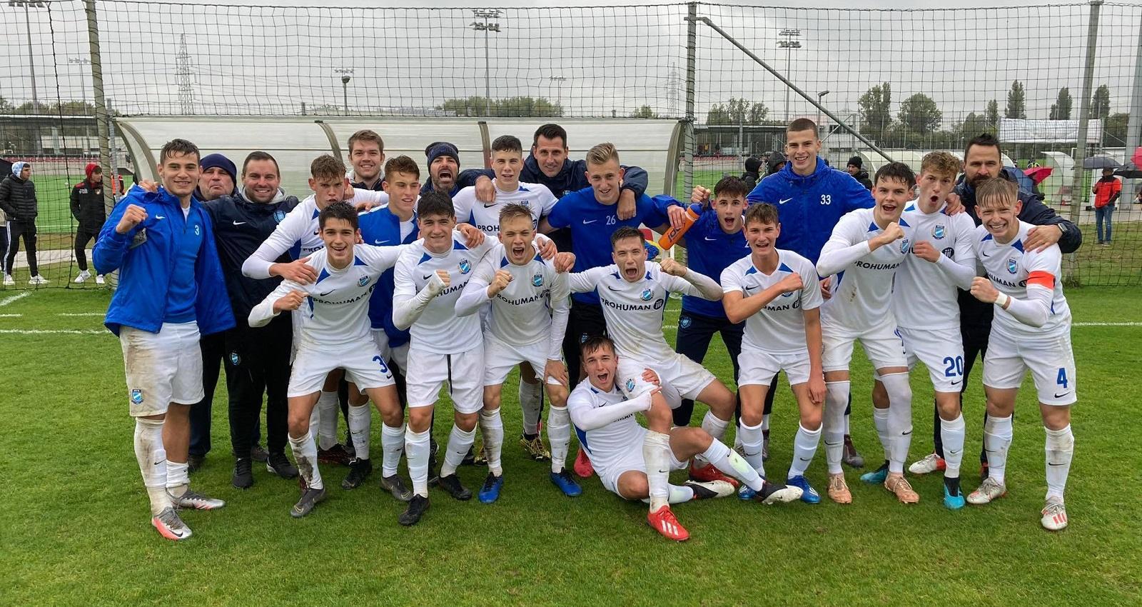 U19: Legyőztük a Honvédot