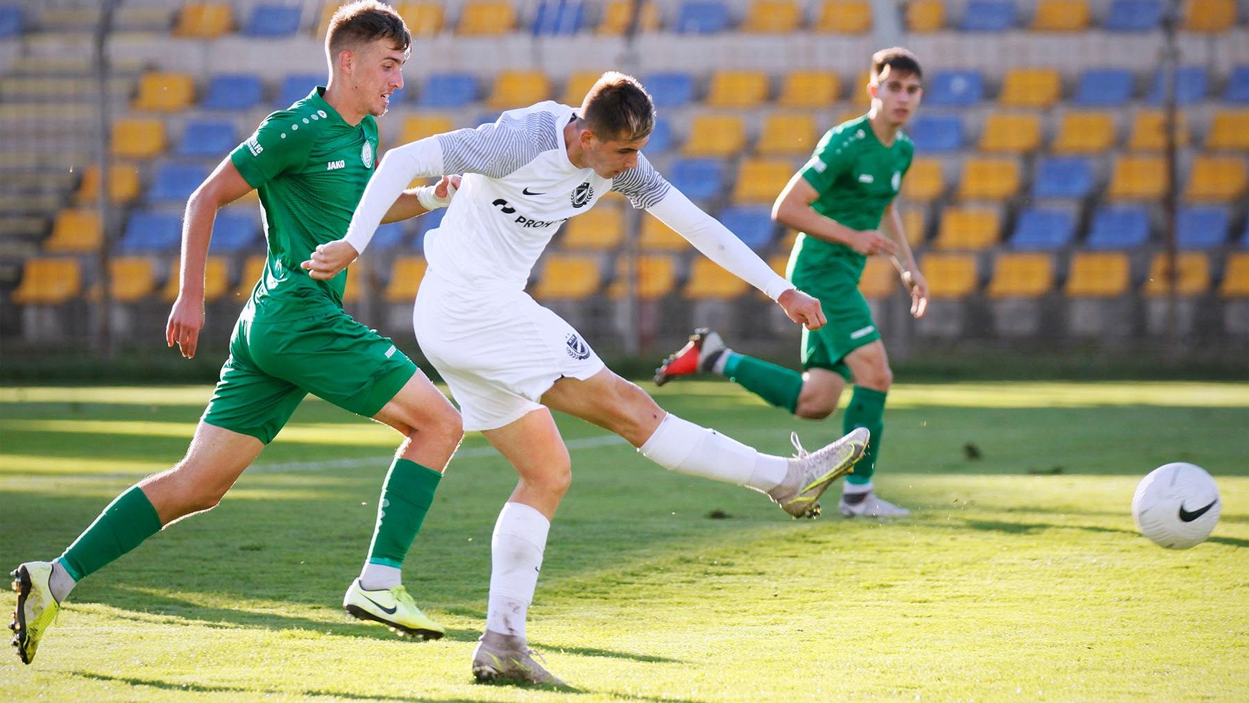 Képgaléria: MTK Budapest II - Paksi FC II 1-0