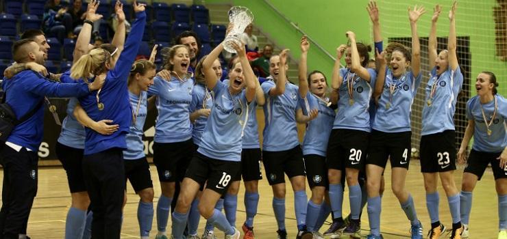 Veretlenül, sorozatban harmadszor nyertük meg a Női Teremlabdarúgó-kupát