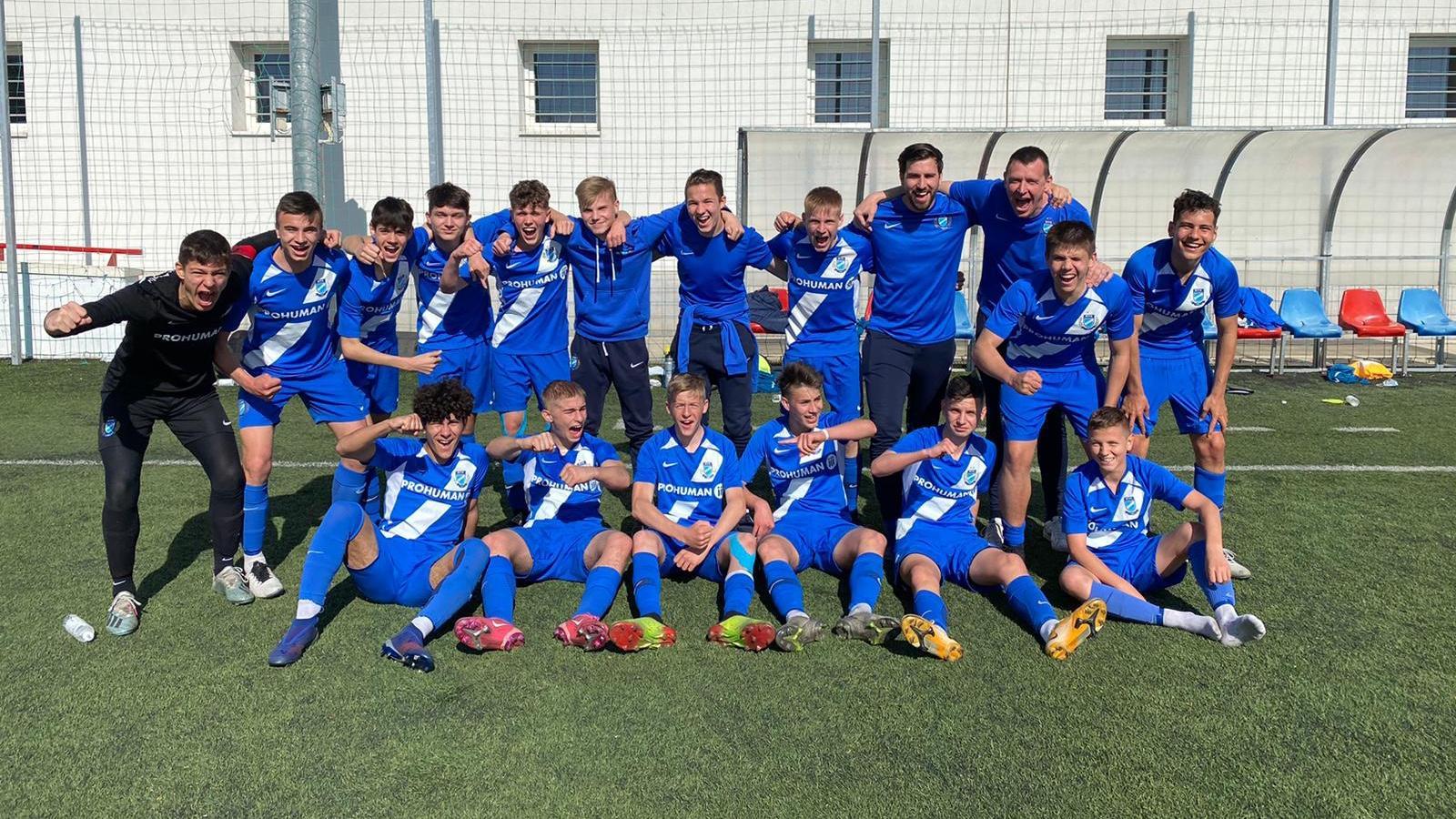 U15: A szezon egyik legjobb meccsén nyertünk