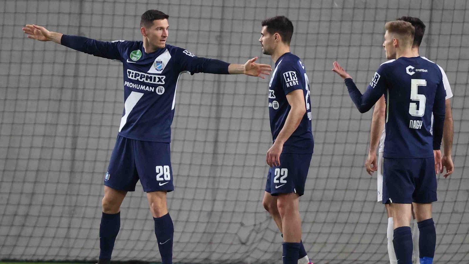 MTK Budapest - ZTE FC 3-0 (0-0) összefoglaló (videó)