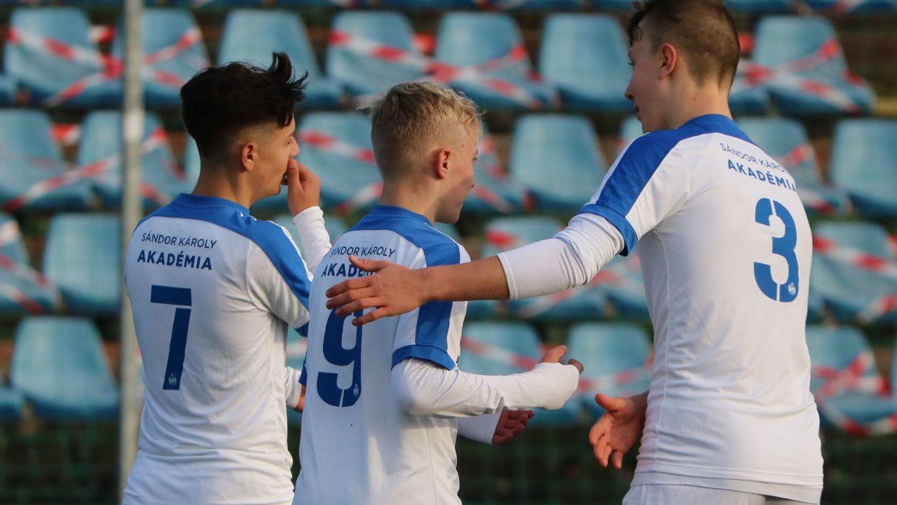 U14: Három góllal nyertünk a Szpari ellen