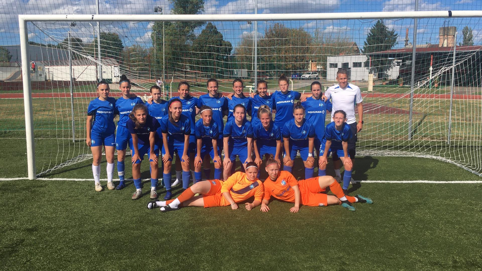 U19: Kétgólos siker Veszprémben