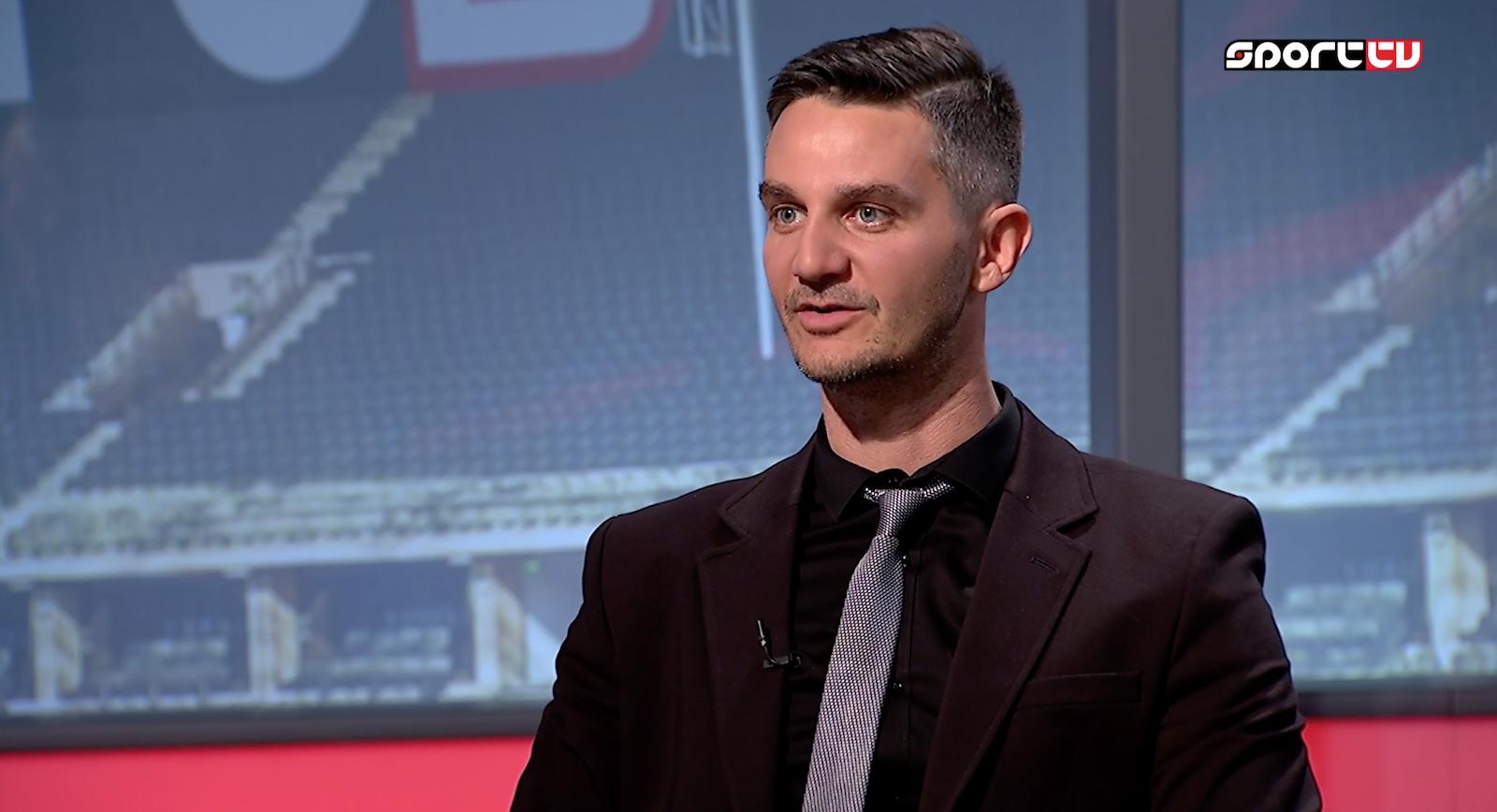 Polyák Balázs volt a Sport TV vendége