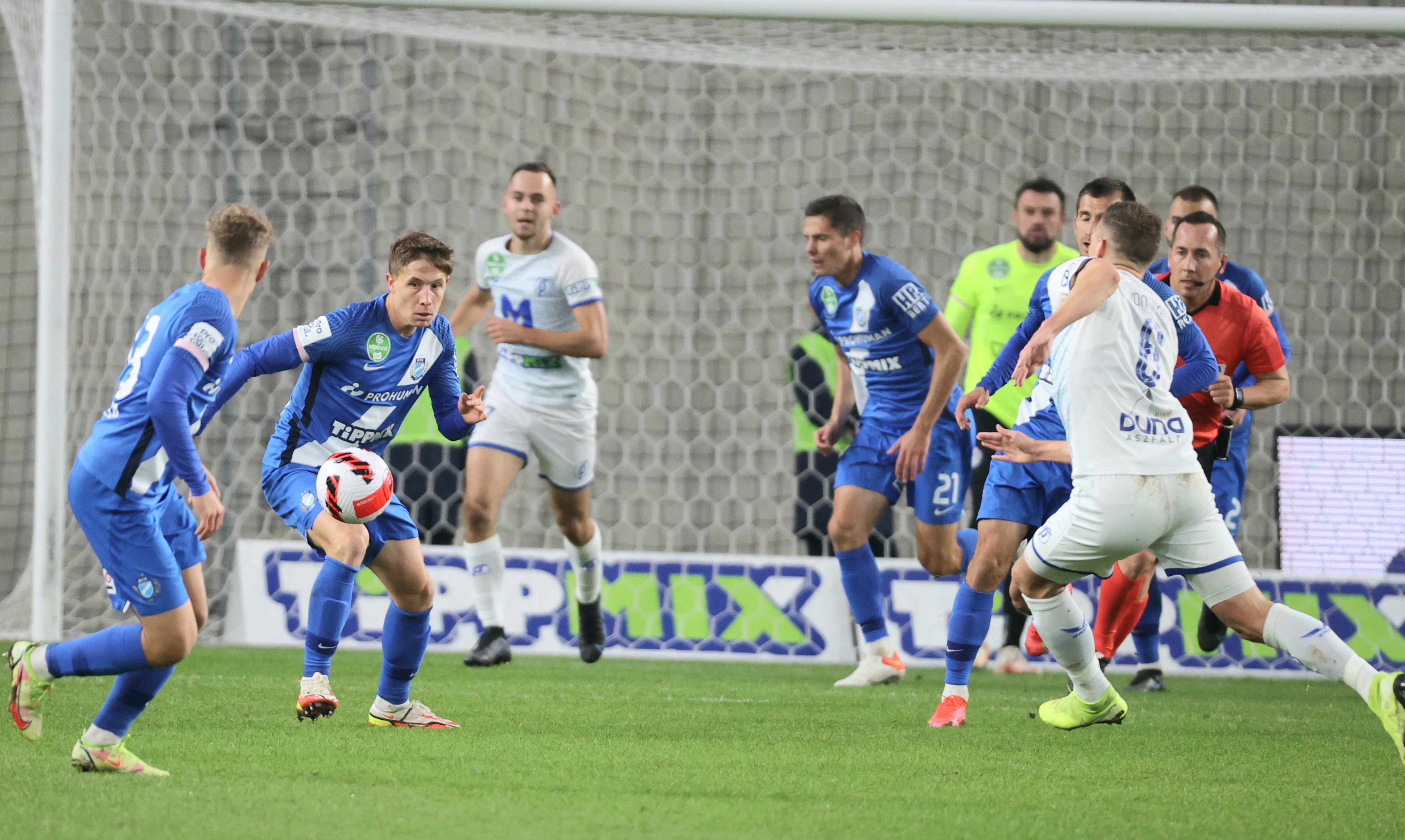 Kiegyenlített mérkőzésen egy gól döntött a Puskás Akadémia javára