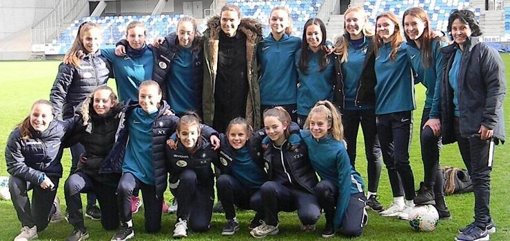 Világsztárt fogadott U14-es csapatunk az Új Hidegkuti Nándor Stadionban