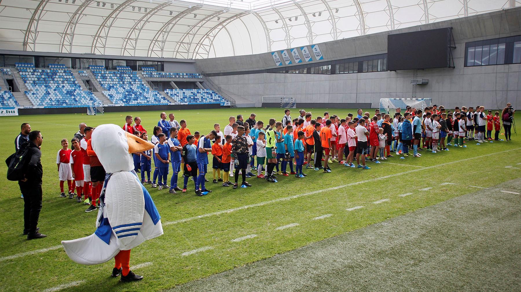 Szombaton rendeztük meg az Arany Kupát az Új Hidegkuti Nándor Stadionban