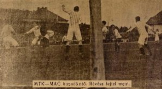 Ezen a napon nyerte meg 1912-ben csapatunk a 1911. évi Magyar Kupát