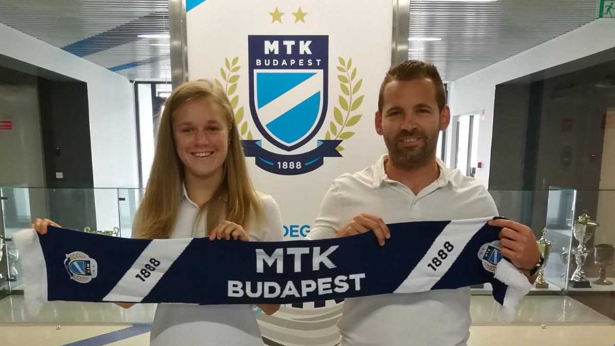 Újabb válogatott játékos érkezett: Vachter Fanni aláírt