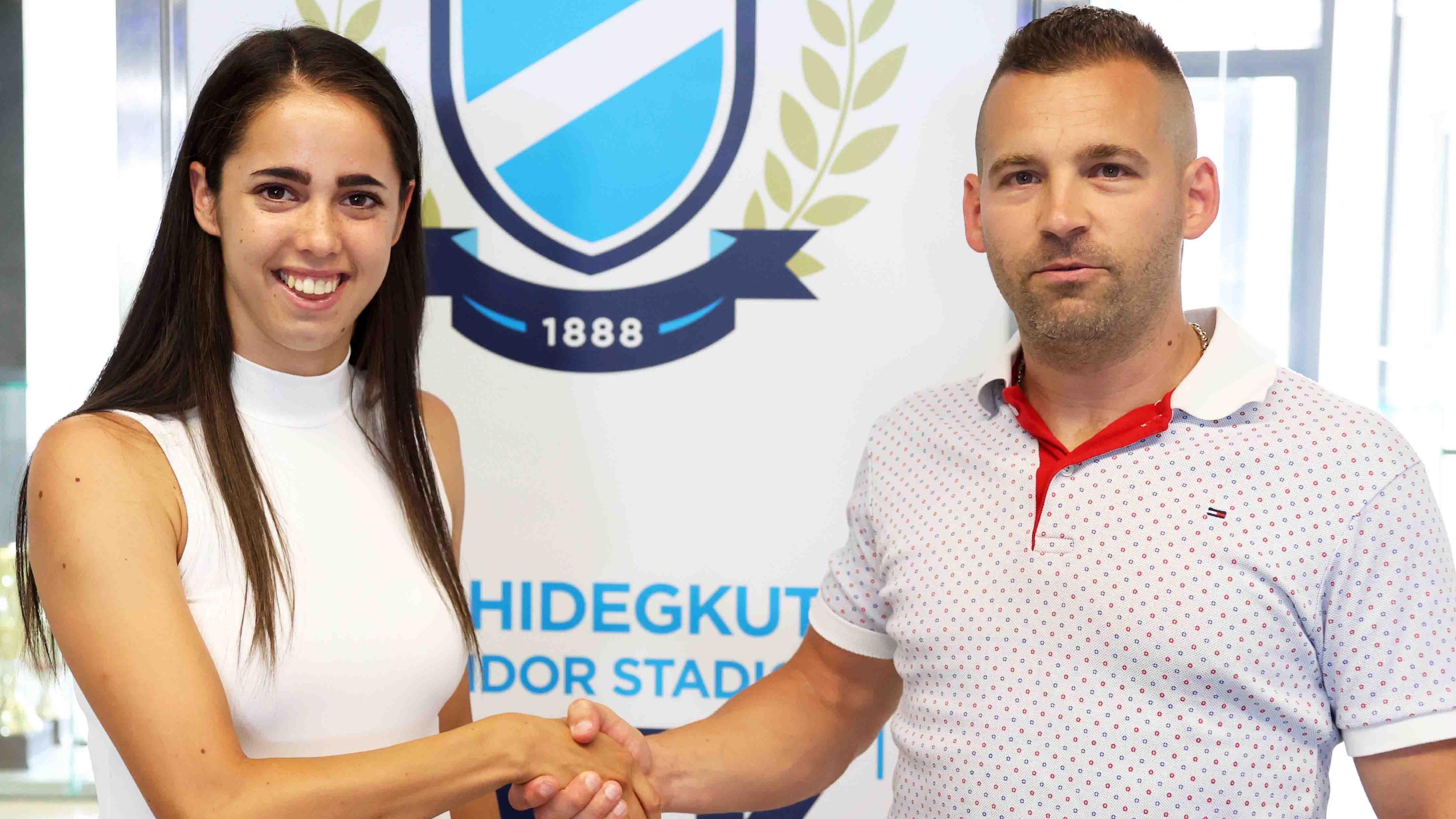 Újabb válogatott játékos írt alá: Nagy Virág érkezett