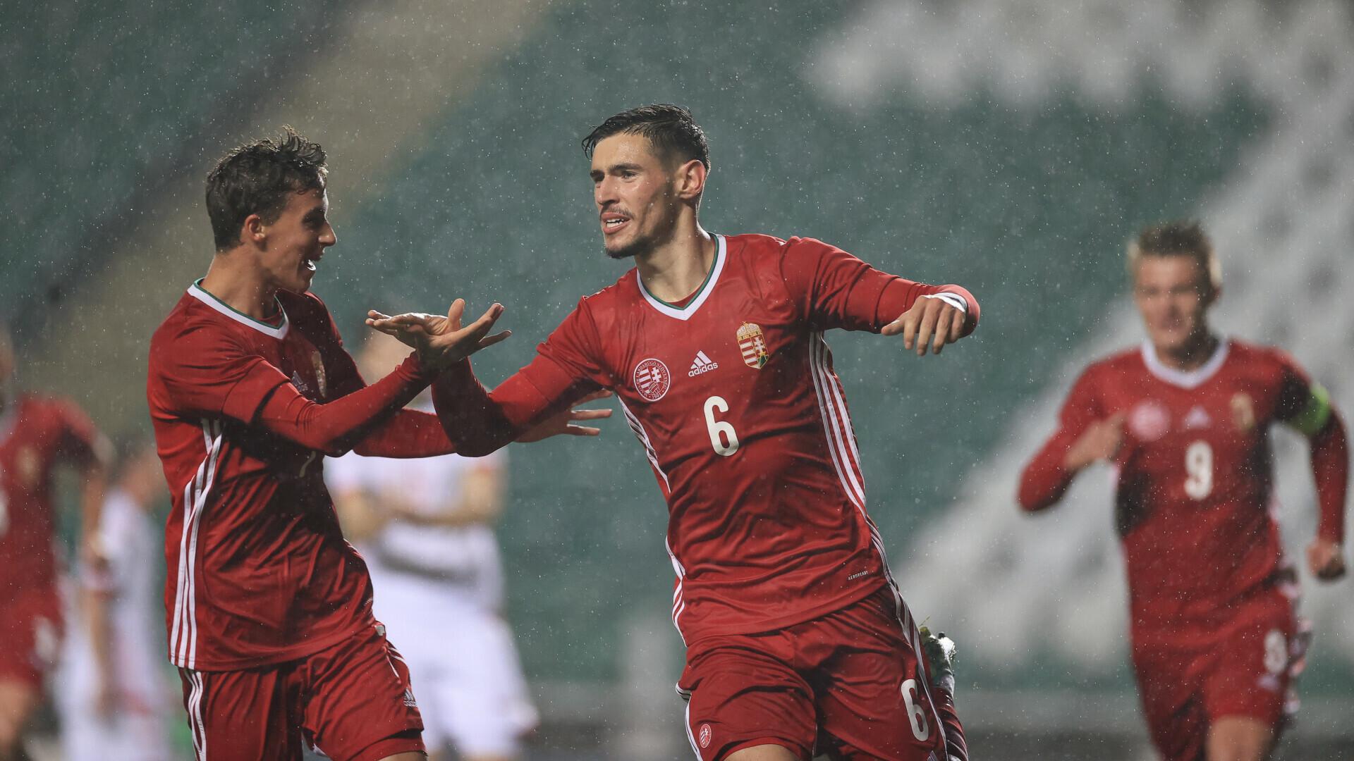 NB III: Kovács Mátyással a kezdőjében nyert az első Eb-selejtezőjén U19-es válogatottunk