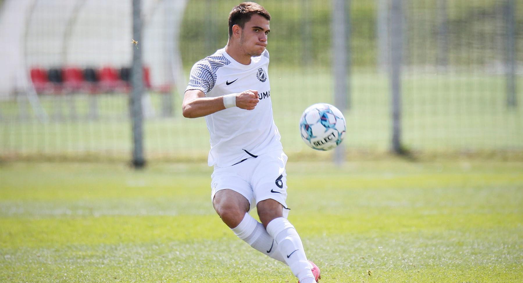 Georgievski meghívót kapott hazája U19-es válogatottjába