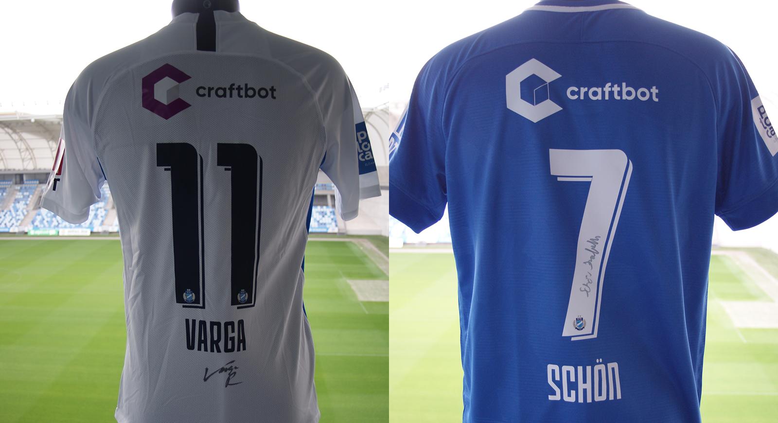 Különleges ajánlat: Schön és Varga dedikált meze a webshopban!
