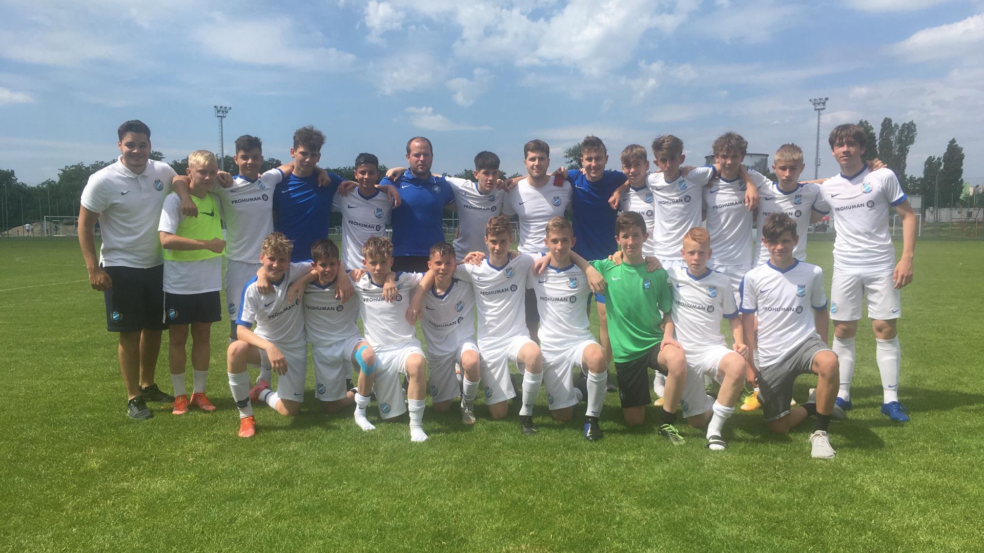 U14: Győztes szezonzáró
