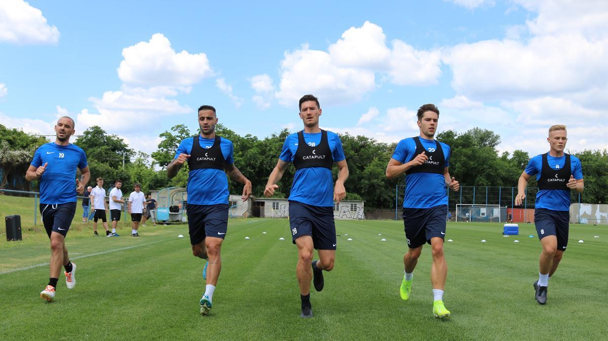 """""""Nagyon jó állapotban vannak a játékosok"""" - felmérés volt a szerdai edzésprogram"""
