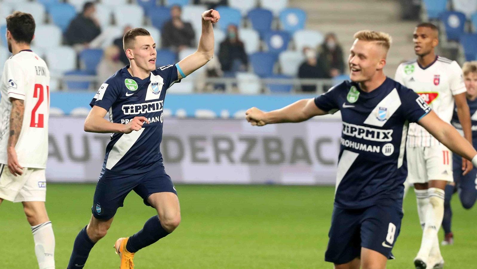 MTK Budapest - MOL Fehérvár FC 3-1 (1-0) összefoglaló (videó)