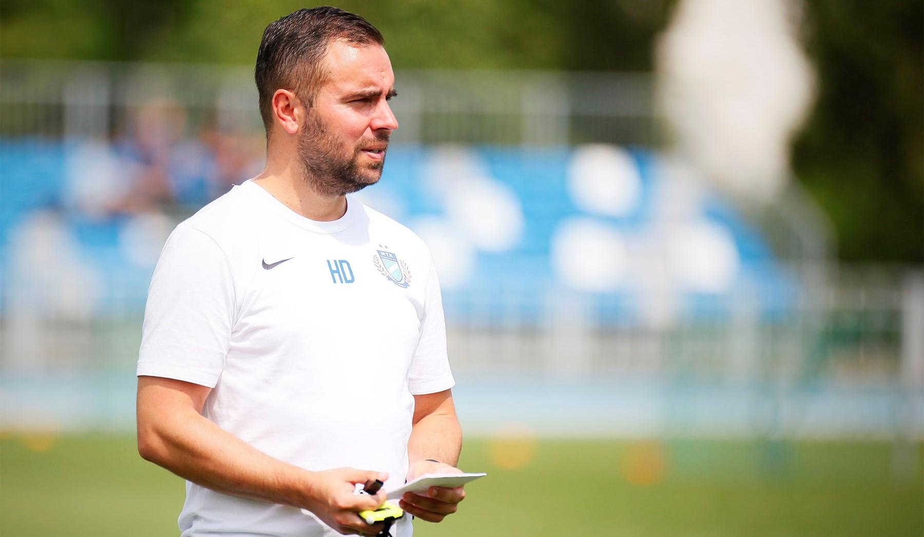 """Horváth Dávid: """"Minden játékosnak plusz motivációt jelent, hogy ők is felérjenek a bajnokcsapat szintjére"""""""