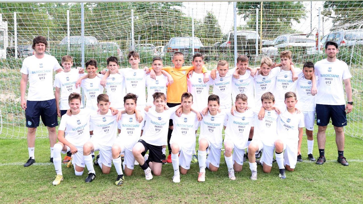 Bajnoki címet nyert U13-as csapatunk (Galéria)