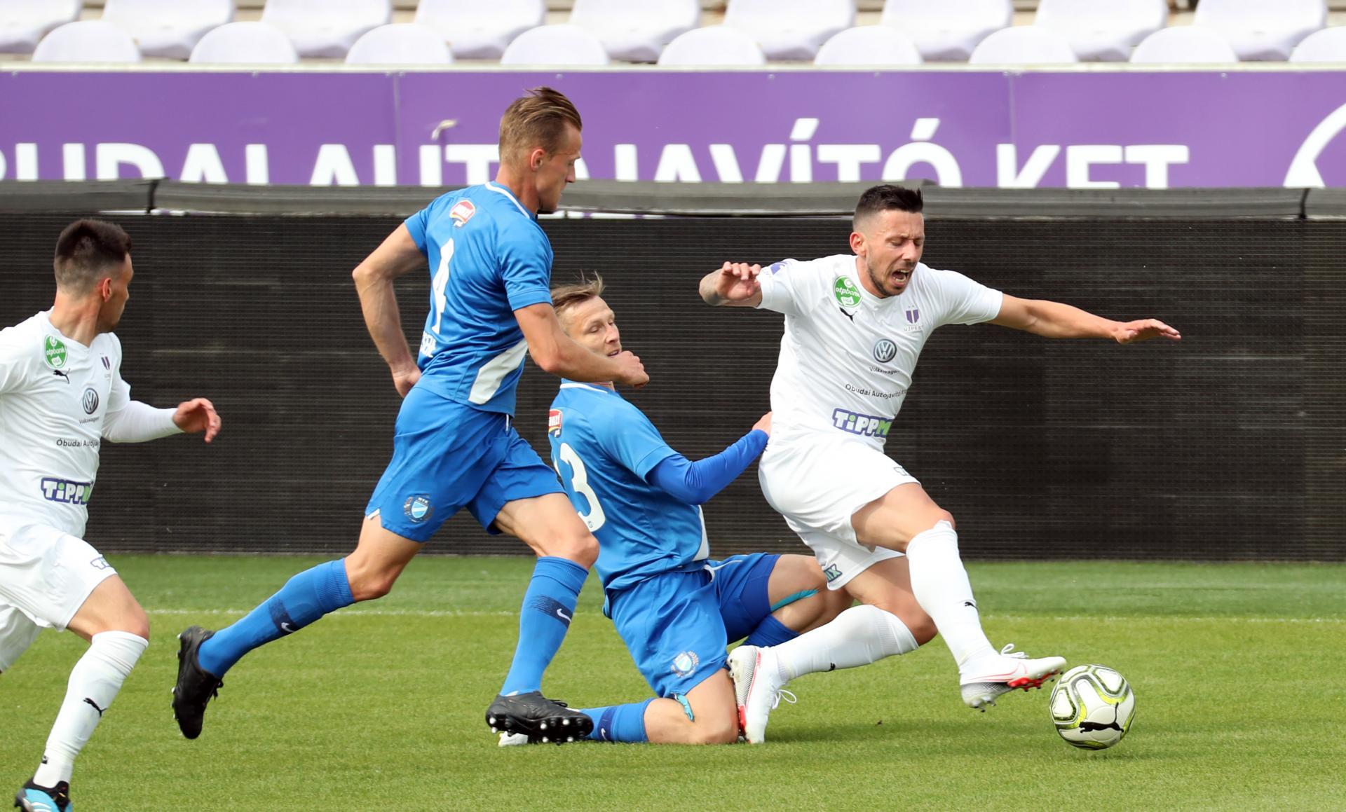 Négygólos döntetlen az Újpest FC ellen