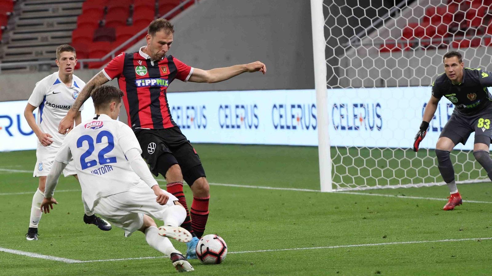Összefoglaló: Budapest Honvéd - MTK Budapest 0-0, MK-visszavágó (VIDEÓ)