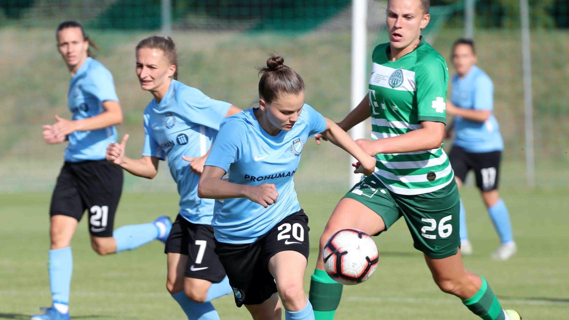 Női labdarúgás: Drámai mérkőzésen szenvedtünk vereséget az FTC-Telekom otthonában