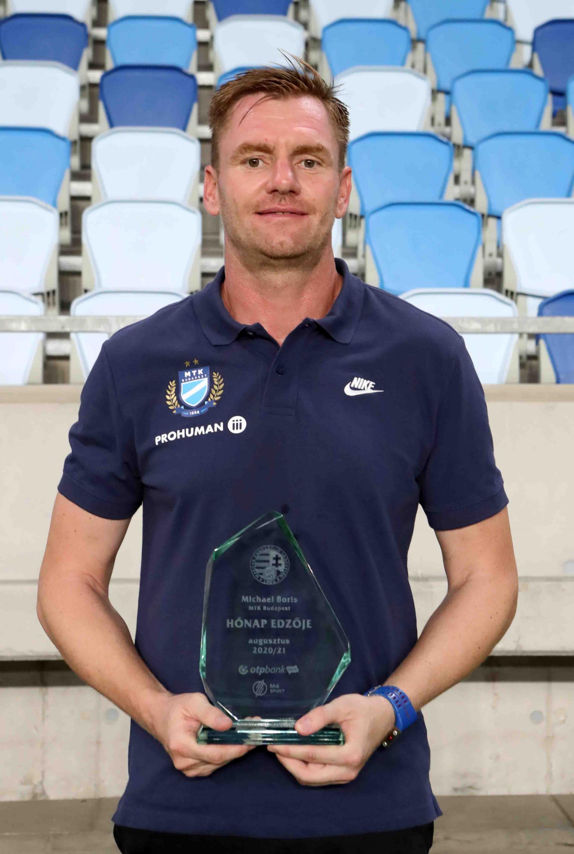 Michael Boris lett augusztus hónap edzője