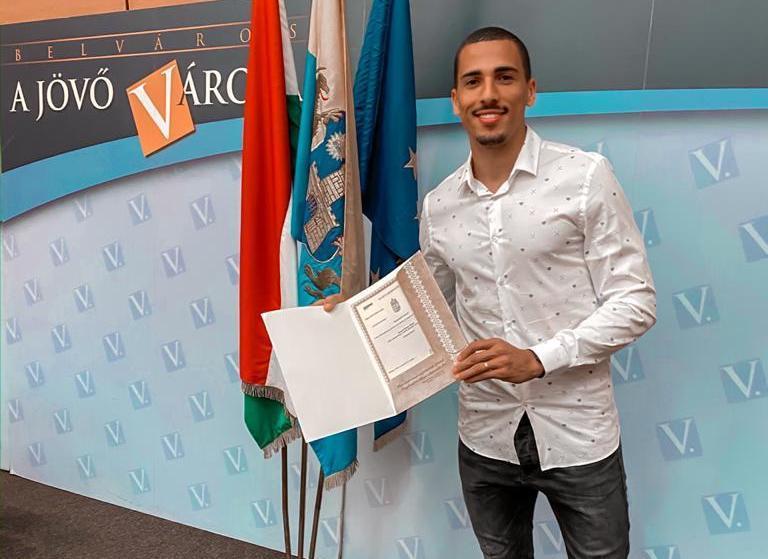 Myke Bouard Ramos magyar állampolgár lett (videó)
